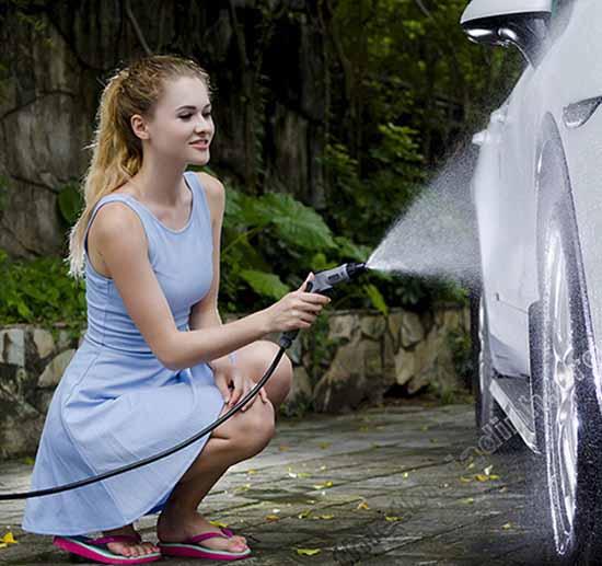Tìm hiểu máy bơm rửa ô tô gia đình
