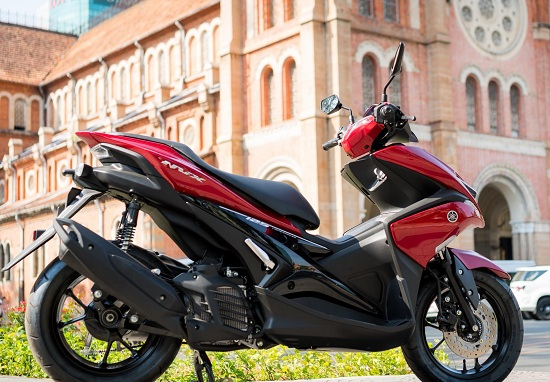 Xe Yamaha NVX 125 an tuong mạnh mẽ