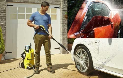 Sai lầm của bạn là rửa xe dưới cái nắng