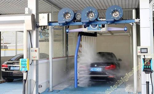 Chi phí đầu tư một hệ thống rửa ô tô tự động khá cao