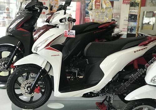 Có nhiều nhà phân phối xe máy Honda Vision