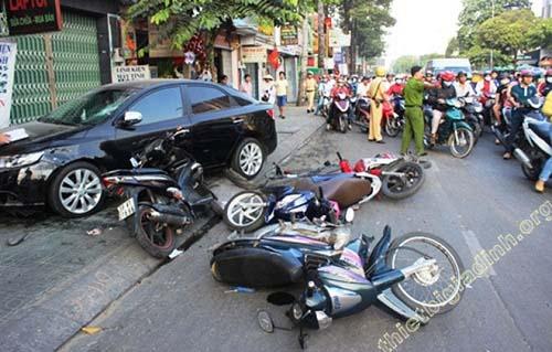 Mơ bị tai nạn giao thông
