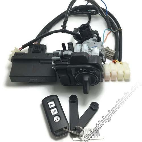 Cấu tạo của hệ thống khóa xe Lead Smartkey