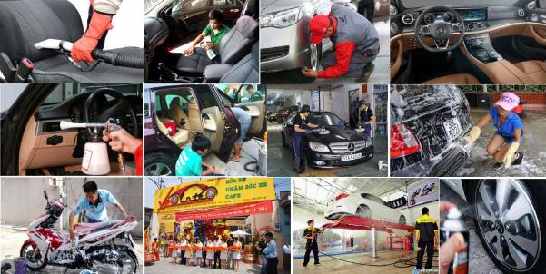 Máy rửa xe áp lực cao Đài Loan phù hợp cho tiệm rửa xe chuyên nghiệp