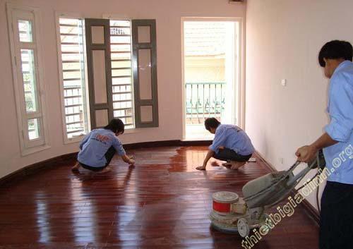 Cách đánh bóng sàn gỗ sao cho hiệu quả nhất