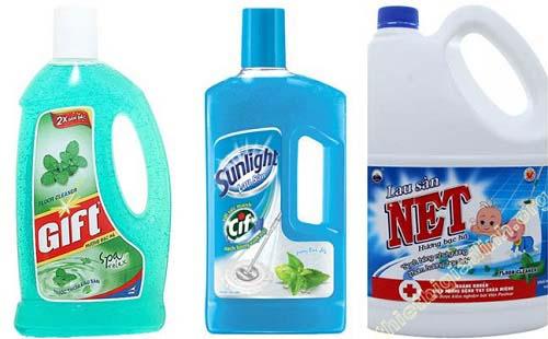 Nước lau sàn chứa các thành phần chống muỗi