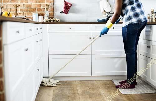 """Chia sẻ """"bí quyết"""" cách làm sạch nền nhà mới xây"""
