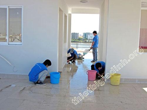 Dịch vụ tổng vệ sinh công trình mới xây
