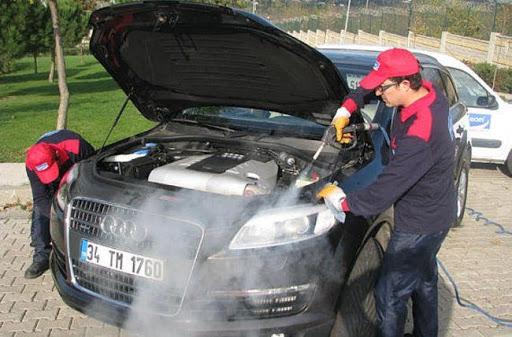 Hạn chế khi rửa xe bằng máy rửa xe hơi nước nóng