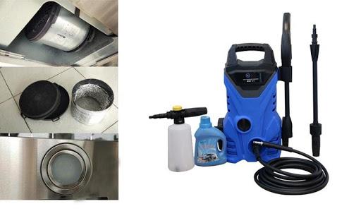 Sự hỗ trợ đắc lực vệ sinh của máy rửa xe