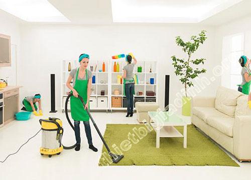 Các dịch vụ vệ sinh chuyên nghiệp phổ biến
