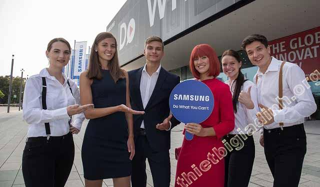 Samsung dan dau su the cong nghe