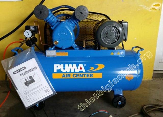 Máy nén khí Puma luôn nhận được nhiều sự ủng hộ của khách hàng