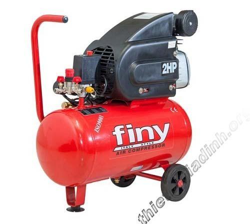 Máy bơm khí nén Finy 24 lít hoạt động công suất 2Hp