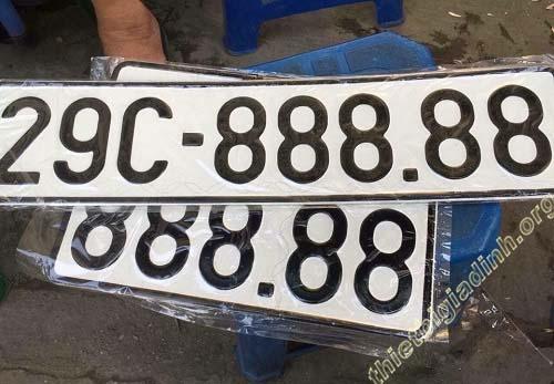 Ý nghĩa biển số xe máy