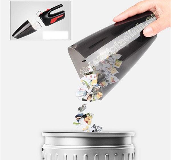 Nên đổ bụi trước khi hộp đựng bụi đầy