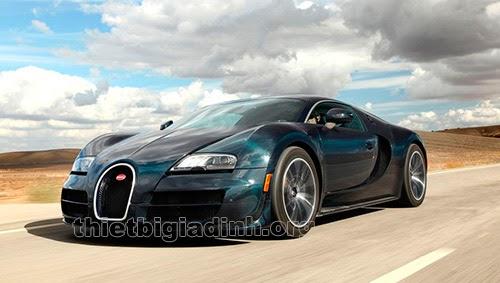 siêu xe nhanh nhất thế giới