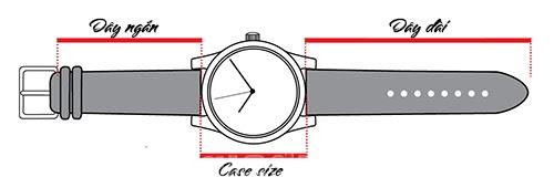 size đồng hồ là gì