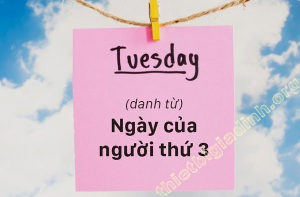 Tuesday là gì