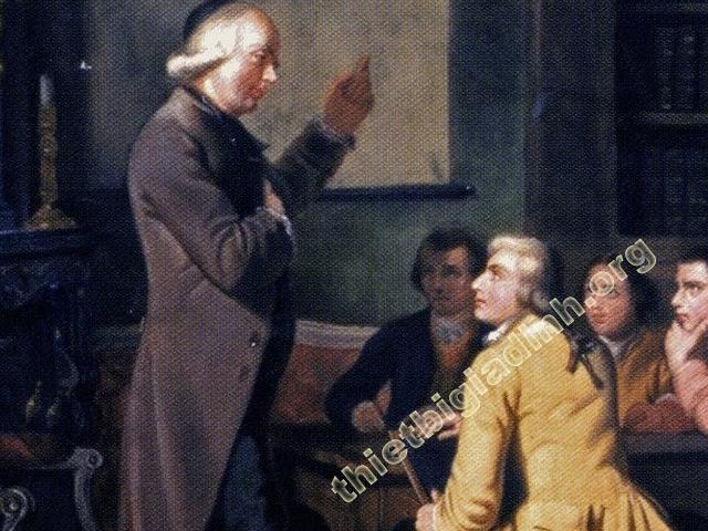 hệ thống giảng dạy của Charles Michèle de l'Epée