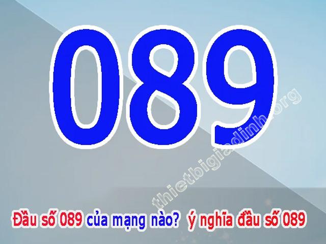 089 là mạng gì