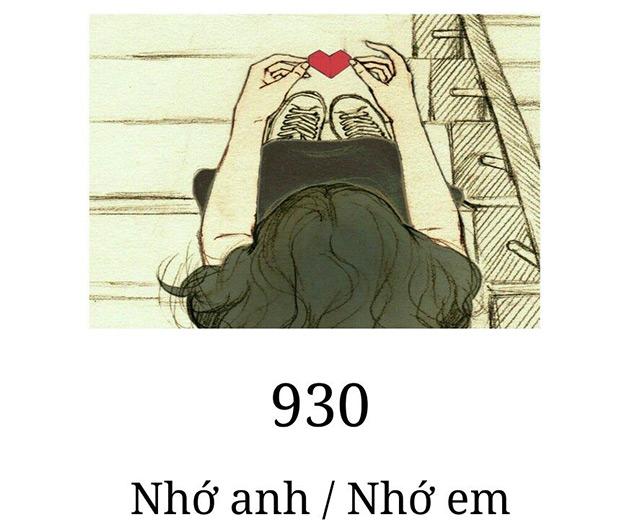 các mật mã tình yêu bằng số